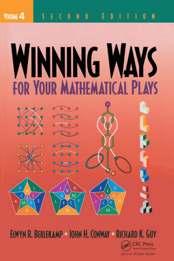 Winning Ways for Your Mathematical Plays, Volume 4 book cover