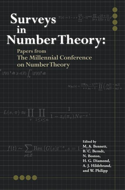 Surveys in Number Theory Papers from the Millennial Conference on Number Theory book cover