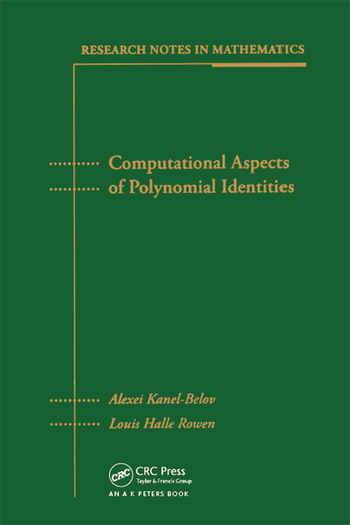 Computational Aspects of Polynomial Identities book cover