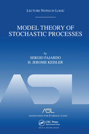 Model Theory of Stochastic Processes Lecture Notes in Logic 14 book cover