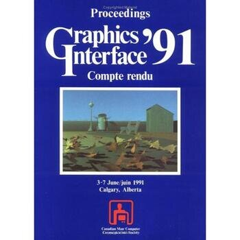 Graphics Interface 1991 book cover