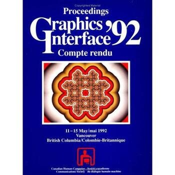 Graphics Interface 1992 book cover