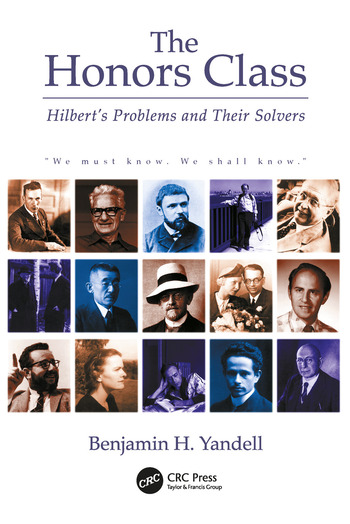 The Honors Class Hilbert's Problems and Their Solvers book cover