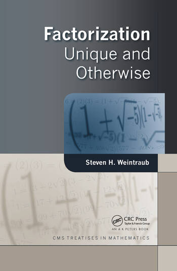 Factorization Unique and Otherwise book cover