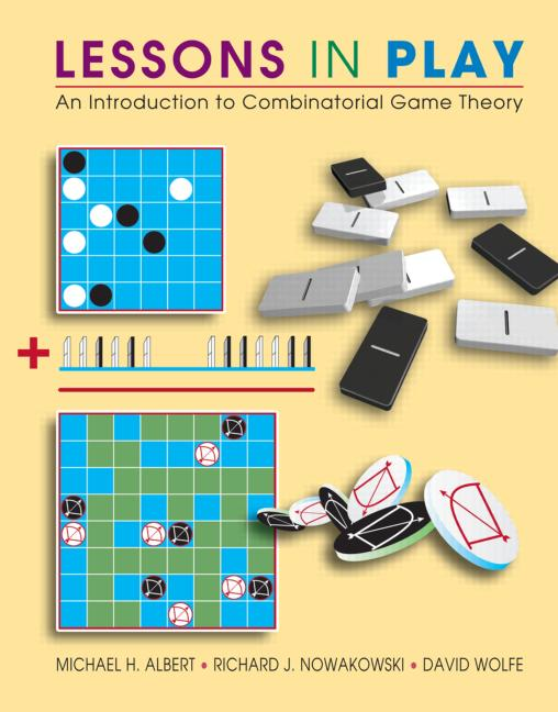 Lessons in Play An Introduction to Combinatorial Game Theory book cover