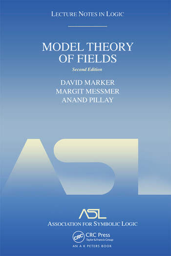 Model Theory of Fields Lecture Notes in Logic 5, Second Edition book cover