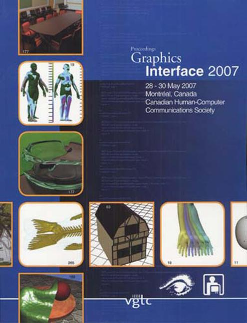 Graphics Interface 2007 book cover