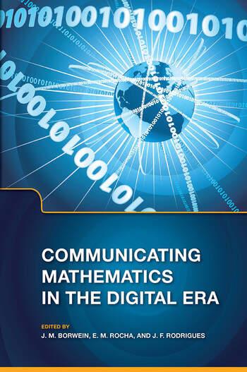 Communicating Mathematics in the Digital Era book cover