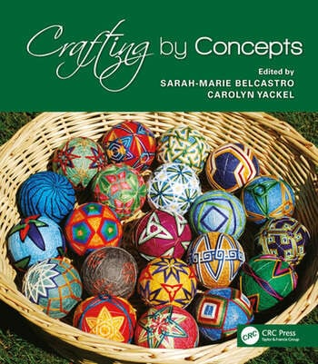 Crafting by Concepts Fiber Arts and Mathematics book cover