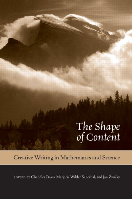 The Shape of Content Creative Writing in Mathematics and Science book cover