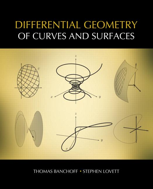 Differential Geometry of Curves and Surfaces book cover