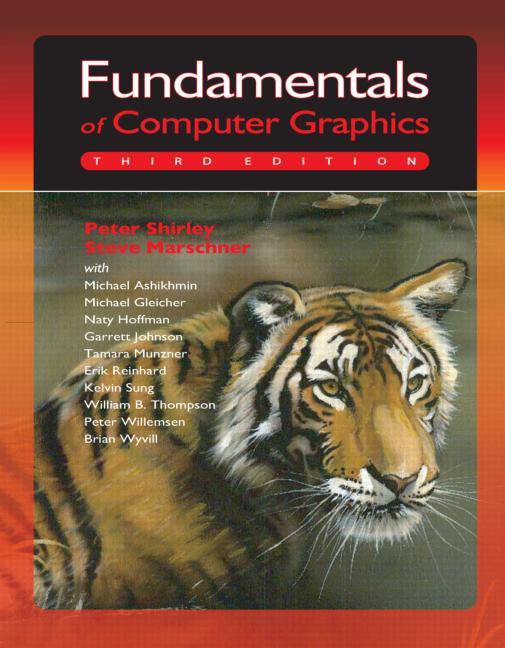 Fundamentals of Computer Graphics book cover