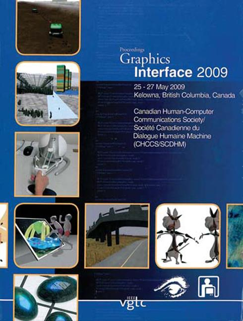 Graphics Interface 2009 book cover