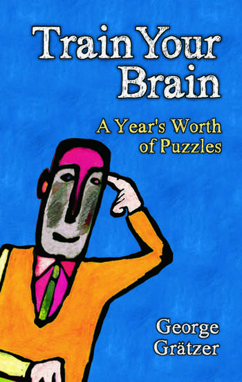 Train Your Brain A Year's Worth of Puzzles book cover