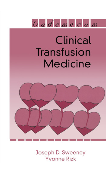 Clinical Transfusion Medicine book cover