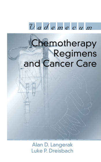 Chemotherapy Regimens and Cancer Care book cover