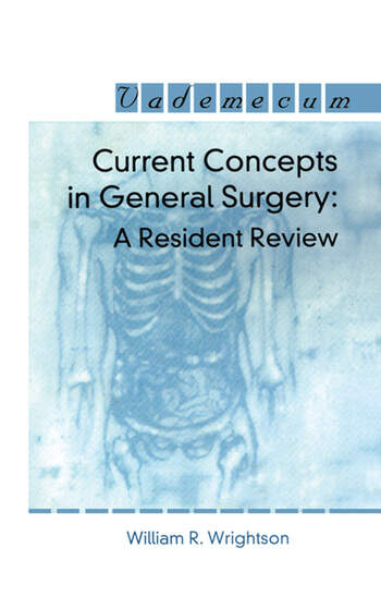 Current Concepts in General Surgery A Resident Review book cover
