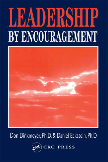 Leadership By Encouragement book cover