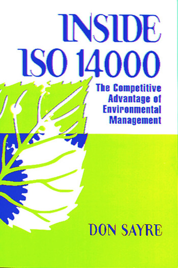 INSDE ISO 14000 The Competitive Advantage of Environmental Management book cover