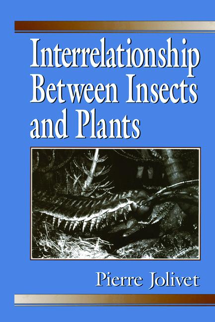 Interrelationship Between Insects and Plants book cover