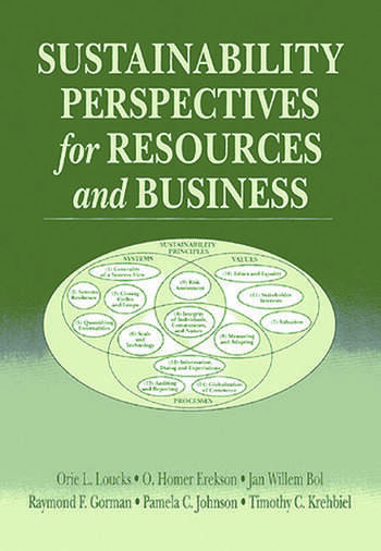 Sustainability Perspectives for Resources and Business book cover