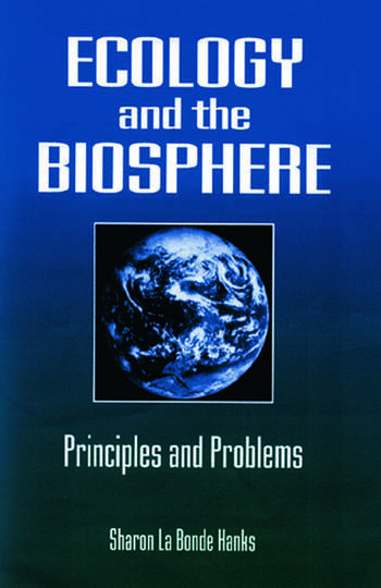 Ecology and the Biosphere Principles and Problems book cover