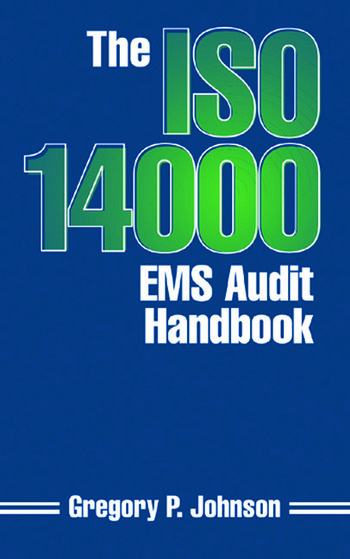 The ISO 14000 EMS Audit Handbook book cover