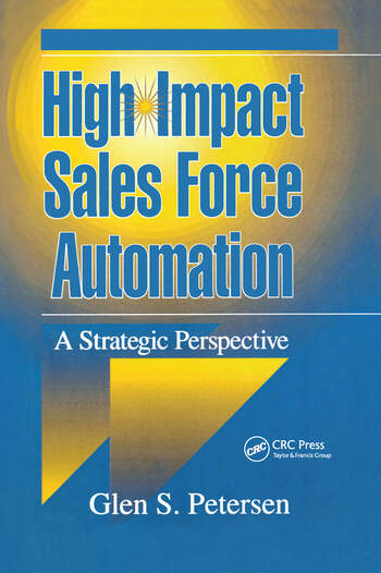 High-Impact Sales Force Automation A Strategic Perspective book cover