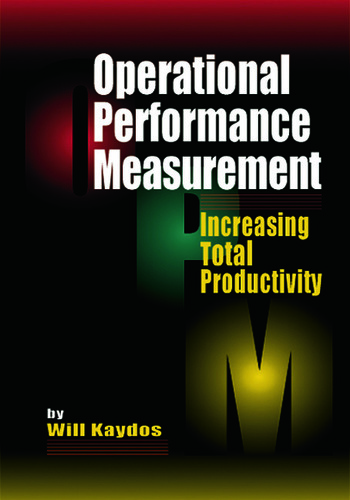 Operational Performance Measurement Increasing Total Productivity book cover