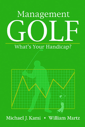 Management Golf What's Your Handicap? book cover