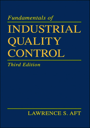 Fundamentals of Industrial Quality Control book cover