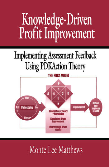 Knowledge-Driven Profit Improvement Implementing Assessment Feedback Using PDKAction Theory book cover