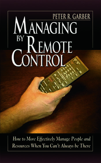 Managing by Remote Control book cover