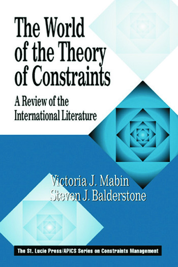 The World of the Theory of Constraints A Review of the International Literature book cover