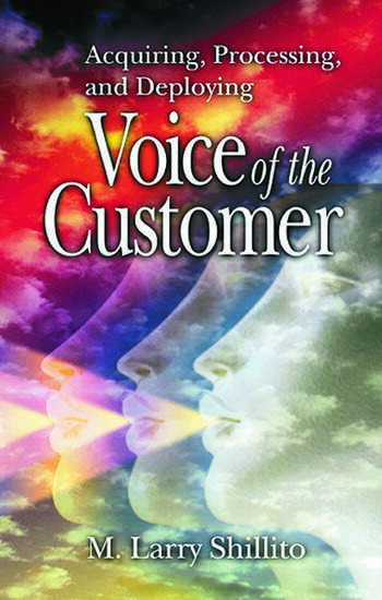 Acquiring, Processing, and Deploying Voice of the Customer book cover