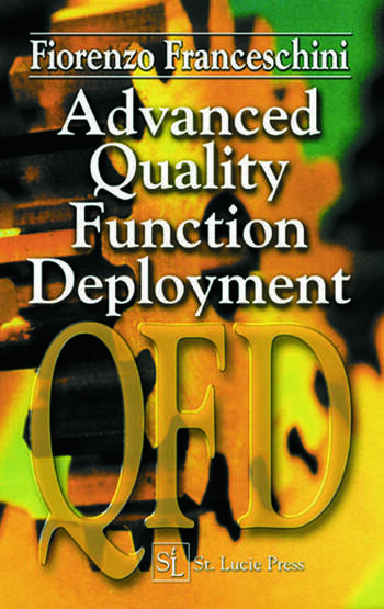 Advanced Quality Function Deployment book cover