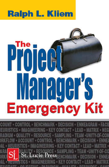 The Project Manager's Emergency Kit book cover
