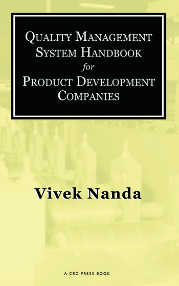 Quality Management System Handbook for Product Development Companies book cover