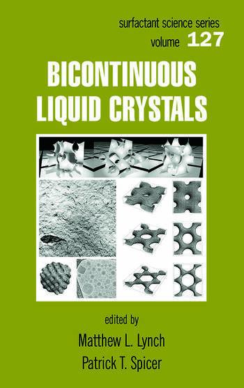 Bicontinuous Liquid Crystals book cover
