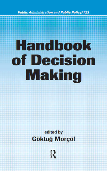 Handbook of Decision Making book cover