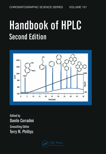 Handbook of HPLC book cover