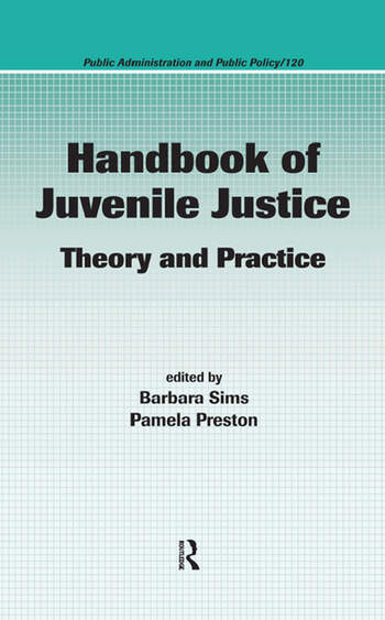 Handbook of Juvenile Justice Theory and Practice book cover