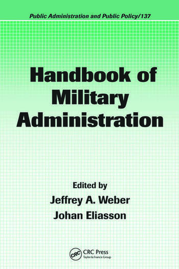 Handbook of Military Administration book cover