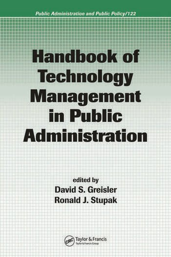 Handbook of Technology Management in Public Administration book cover