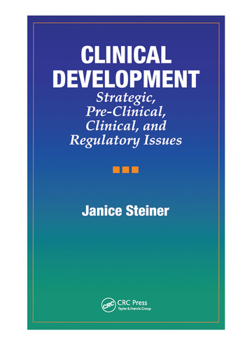 Clinical Development Strategic, Pre-Clinical, and Regulatory Issues book cover