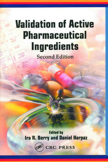 Validation of Active Pharmaceutical Ingredients book cover