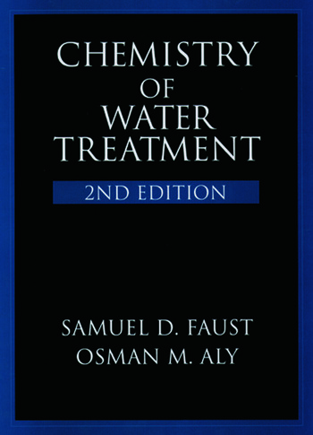 Chemistry of Water Treatment book cover