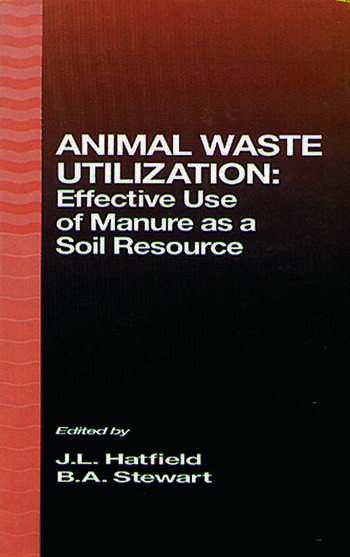Animal Waste Utilization Effective Use of Manure as a Soil Resource book cover