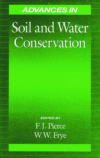 Advances in soil and water conservation crc press book for Soil and water conservation