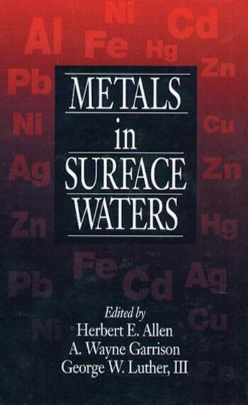 Metals in Surface Waters book cover